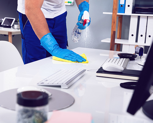 office cleaning in Lenexa, KS